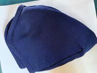 "Longaberger Indigo Blue 9"" Bowl Basket Fabric Liner"