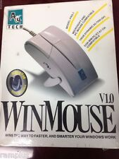 A4 Tech PRO-7 WinMouse 50-7000 dpi DOS/ WIN PC XT/ AT  9-Pin Serial Mouse, NEW