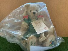 HERMANN HEIDI MOHAIR EXCELSIOR LIMITED EDITION EMBROIDERED NO. 260 TEDDY BEAR