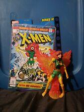 "Marvel Legends Series VI Phoenix Jean Grey Toy Biz 6""  Green Suit"