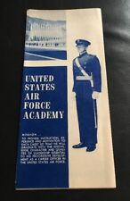 Rare 1960'S UNITED STATES AIR FORCE ACADEMY Tourist Guide Brochure