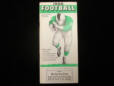 1966 TSN Football Handbook & Schedules Booklet
