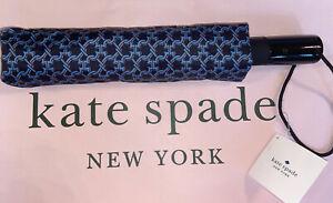 NWT KATE SPADE NEW YORK SPADE LINK TRAVEL UMBRELLA  SUPER CUTE  FREE SHIPPING!