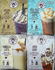 3 Frozen Bean Frappe Mix Sea Salt Caramel Mocha Vanilla Latte Java Chip Coffee
