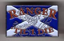 RANGER TILL I DIE Rectangular Pin Badge