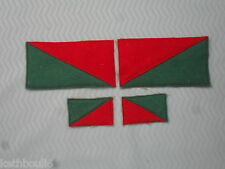 ww1 6th Australian light horse saddle blanket patch,  matched pair L.R