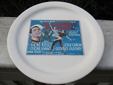 """PotteryBarn """"An American In Paris"""" Tcm Collector Plate 1951 w/Gene Kelly-Mint"""