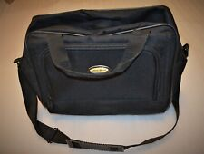 """Eddie Bauer Laptop Bag Black,Overall dimensions are 17"""" x 12"""" x 3"""" / Exp. to 6"""""""