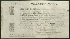 More details for regents canal, one share, 1817