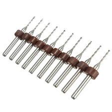 10 x 1.0mm 1mm Quality Carbide PCB Dremel Jewelry CNC Drill Bits