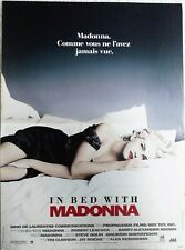 Affiche cinéma IN BED WITH MADONNA  - 60 x 40 cm