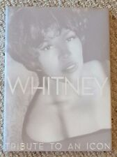 Whitney Tribute To An Icon Hardcover Book Bn Pretty Coffee Table Book $39.99Msrp