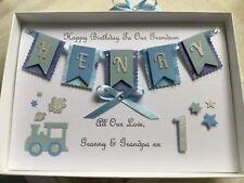 Personalised Boxed Card Birthday Boys 1st Birthday Son Grandson Godson 1 2 3 4 5