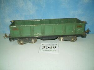 Lionel Lines Prewar Standard Gauge No 512 Peacock Gondola Train Car