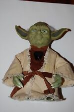 "Yoda Interactive by Tiger Electronics-Star Wars, Talks, 8"" Tall"