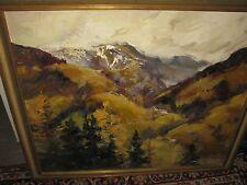 TRÄTZL Robert, *1913 Wundervolle Berglandschaft