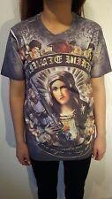 Minute Mirth Shiroi Neko camisa. nuevo. Trash María-m16 vintage Design Streetwear