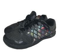 Reebok Crossfit Nano 4.0 CF74 Graffiti Black Gray Men's Shoes US 10.5 RARE