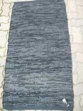 aspegren Läufer Teppich 70 x 130 cm Leather black 2875 floor mat Leder schwarz