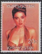 MADONNA POP MUSIC LEGEND KYRGYZSTAN 1999 MNH STAMP
