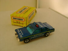 1993 MATCHBOX SUPERFAST MB16 FORD LTD STATE POLICE HIGHWAY PATROL CAR NEW IN BOX
