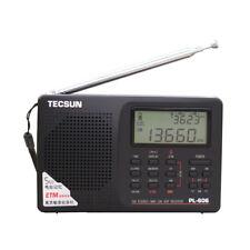 TECSUN PL-606 FM Radio Stereo SW MW LW World Portable Digital World Band Radio