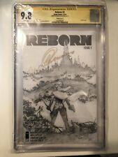Reborn #1 1:100 Sketch Cover CGC SS 9.8 signed by Capullo - COMING TO NETFLIX