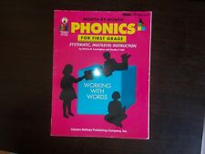 Month by Month Phonics for First Grade by Carson-Dellosa Publishing