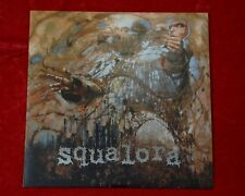 "Squalora 12"" LP hardcore punk, foil-stamped cover black vinyl metal anarchopunk"