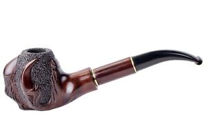 Dr. Watson - Wooden Tobacco Smoking Pipe - EAGLE'S CLAW - Fits 9mm filter