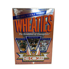 1996 Unopened Box Of Wheaties Super Bowl 30th Anniversary  Collector's Edition.