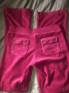 pink juicy couture Flared Tracksuit bottoms