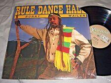 BUNNY WAILER Rule Dance Hall VINYL LP promo record album 1987 shrink wrap NM/NM