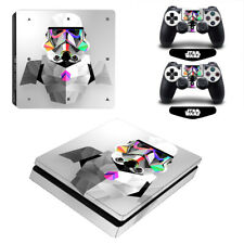 Star Wars Vinyl Decal Skin Sticker Cover for PS4 Slim Console & Controllers