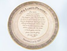 💥 Avon Fine Collectible The Lords Prayer Plate 2002