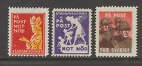 Sweden Cinderella Charity stamp ML-574   (2) MNH GUM (1)no gum/ hidden gum?