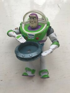 "5"" DISNEY TOY STORY 3  - DISC ATTACK BUZZ LIGHTYEAR MATTEL ACTION FIGURE"