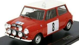 1:18 IXO 1965 Mini Cooper S, RHD, No.8, BMC, RAC Rally P Hopkirk/H. Liddon