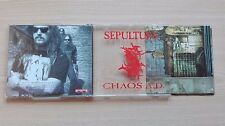 SEPULTURA – ''CHAOS A.D.''- PROMO CD ALBUM. 12 TRACKS.