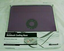 New In Box MICROSOFT Notebook Cooling Base Z3C-00026 Purple Model #1388
