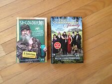 Duck Dynasty Books - Lot of 2 Hardcovers w/Dustcovers (NEW) - Uncle Si