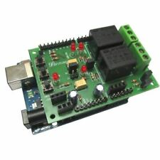 Future Kit Shield For Arduino Uno 2ch Relay Led Sensor Ir Sr04 Flux Workshop