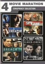 4-Movie Marathon: Conspiracy Collection (DVD, 2016, 2-Disc Set)