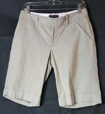 banana republic shorts martin fit size 6