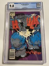 Incredible Hulk #345 CGC 9.8 Newstand OW/W Pages - McFarlane Cover