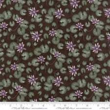 Moda Summer On The Pond Quilt Fabric By The Yard - 6721 19 Mud