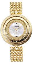 Versace Women's Eon VQT060015 MOP Dial Gold IP Stainless Steel Bracelet Watch