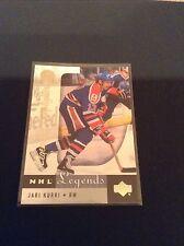 2001 UD Legends Jari Kurri NHL LEGENDARY LAMPLIGHTERS #97 Edmonton Oilers