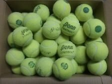 50 used tennis balls green dot low compression