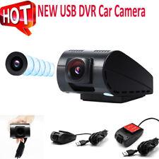 720P HD USB Car Front Mini Hidden Dash Cam DVR Camera Vehicle Video Recorder New